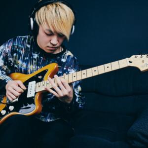 Ryunosuke Yamagishi meets Fender Mustang Micro
